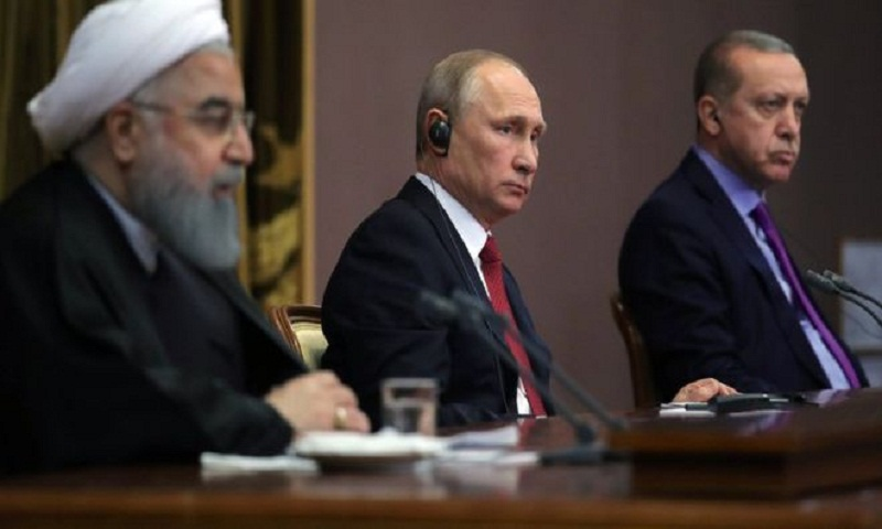 Syria war: Putin unveils plan for peace congress