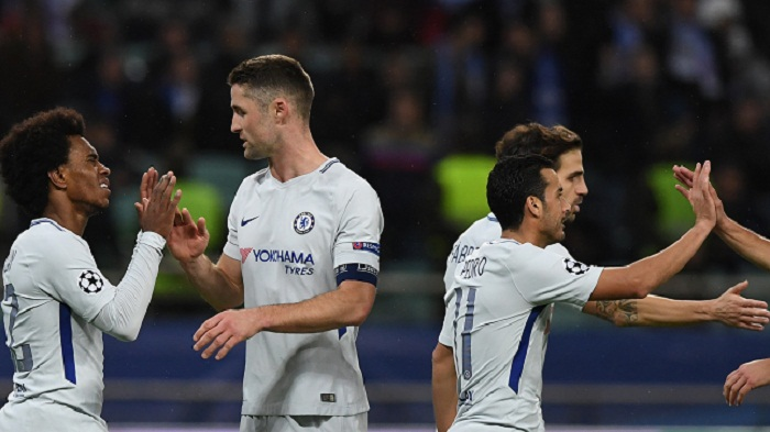 Chelsea qualify for Champions League last 16