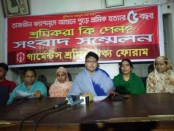 RMG workers demand justice for Tazreen victims