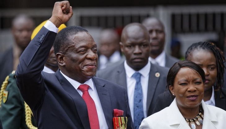 New Zimbabwe president terms Mugabe as 'father of the nation'
