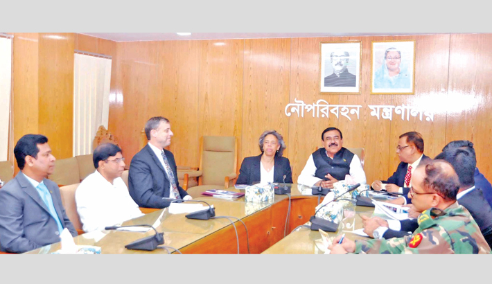 US ambassador to Bangladesh Marcia Stephens Bloom Bernicat