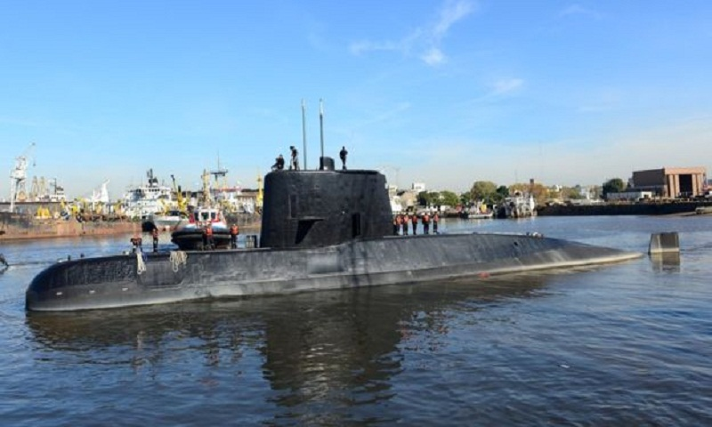 San Juan submarine: 'Explosion' dashes crew survival hopes