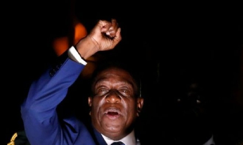 Zimbabwe: Emmerson Mnangagwa to succeed Mugabe as president