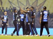 Khulna Titans set 159 runs target for Rangpur Riders to win
