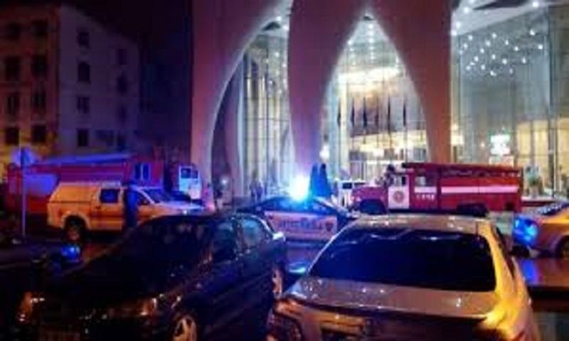 Georgia fire: Deadly blaze hits Batumi resort hotel, kills 11