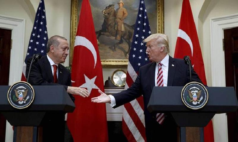 Trump, Erdogan discuss Syria over phone