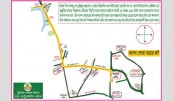 Route map for today's jubilant procession