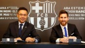 Messi signs Barca extension to 2021