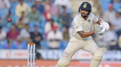 Vijay scores unbeaten 56 as India reach 97/1 at lunch vs Sri Lanka