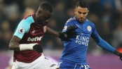 West Ham draws 1-1 with Leicester for David Moyes' 1st point