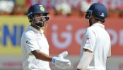 Vijay, Pujara pummel Sri Lanka on day two