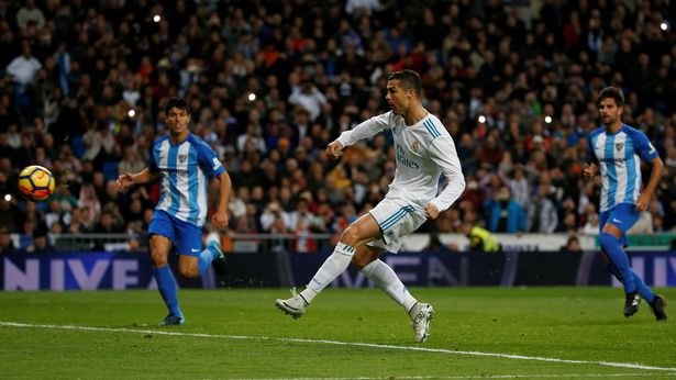 Ronaldo scores for Real Madrid to beat Malaga 3-2 in La Liga