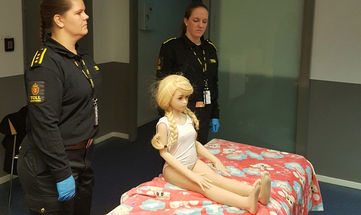 Norwegian man jailed for buying child-like sex doll