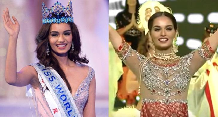 Miss World Manushi Chhillar dancing in 'Nagada' video song goes viral