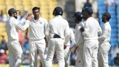 India beat Sri Lanka by an innings and 239 runs