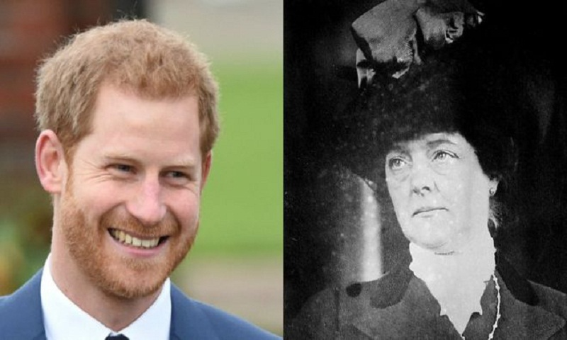 The other American in Prince Harry's family
