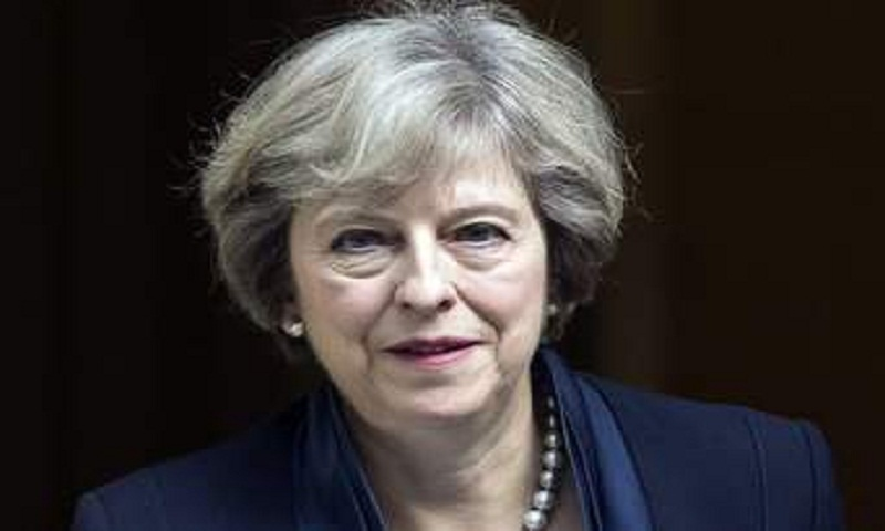 Britain's Theresa May to visit Saudi Arabia, speak to crown prince