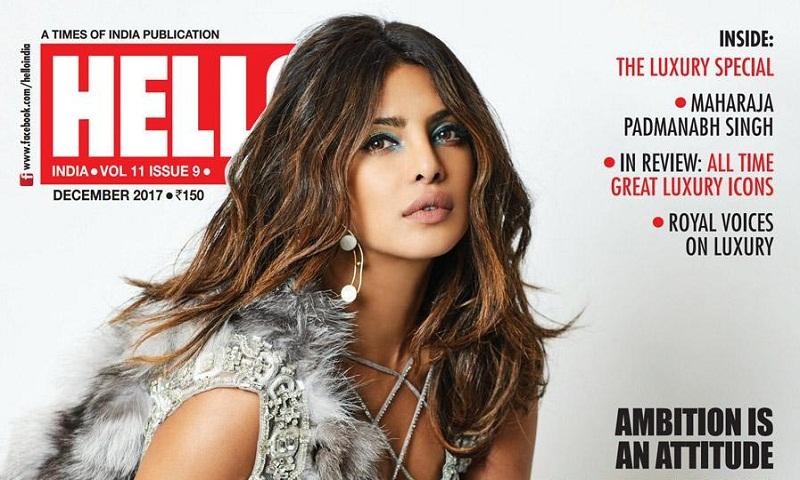 Priyanka Chopra sizzles on cover of Hello! magazine