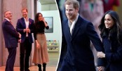 Prince Harry and Meghan wow Nottingham crowds on first joint visit