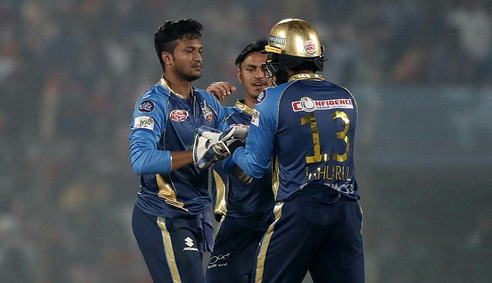 Dhaka thrash Rajshahi in one sided match