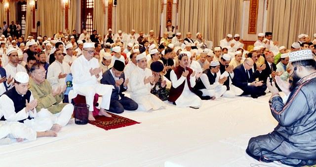 President hosts milad mahfil at Bangabhaban
