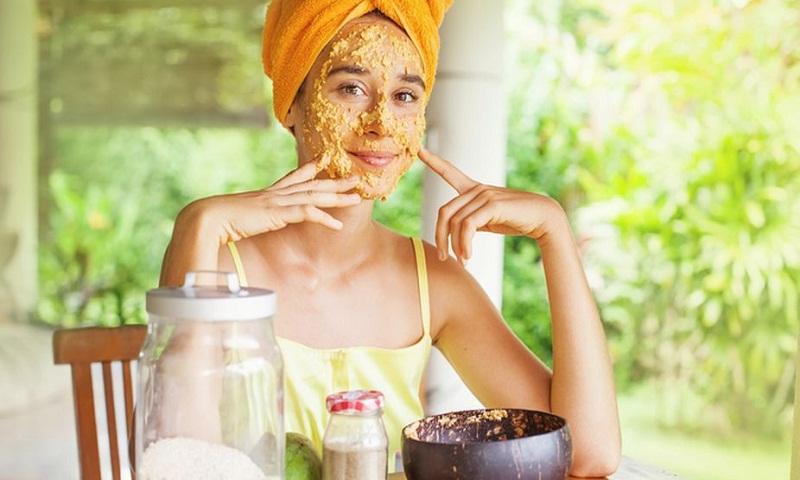 Use orange scrub to get softer, smoother skin