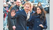 Prince Harry, Meghan make their first royal visit