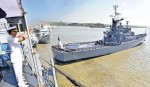 Navy warship off to Lebanon to join UN peace mission