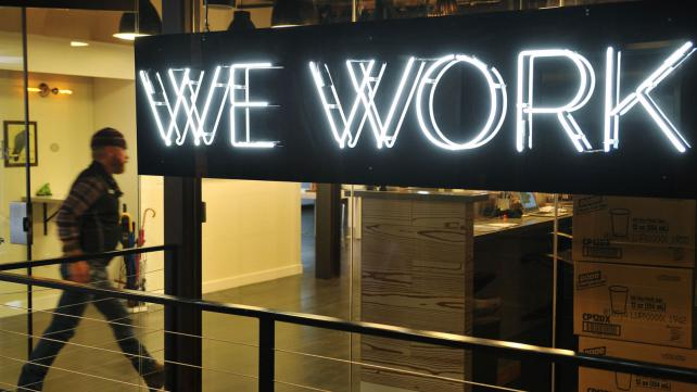 WeWork rides lifestyle change to become new economy star