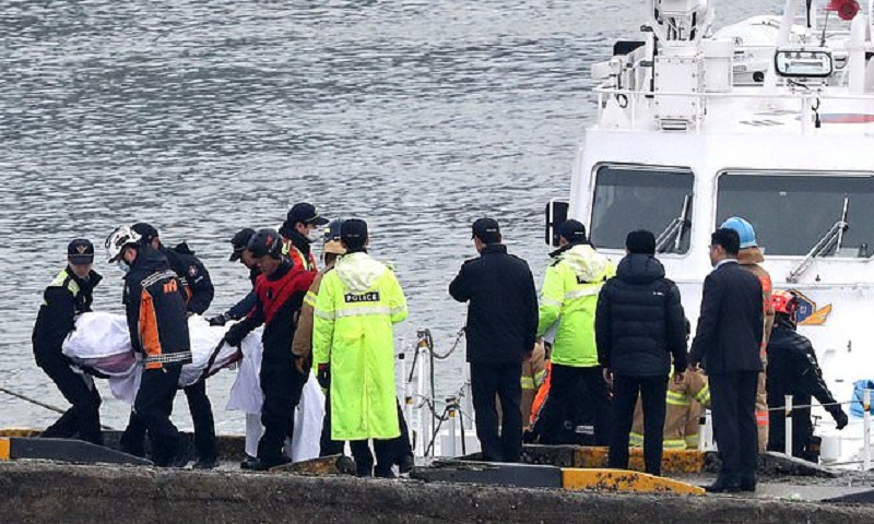 4 dead, 5 missing after boat capsizes in South Korea