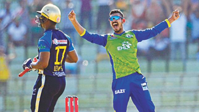 Nasir takes five as Sylhet Sixers stay in semi-final race