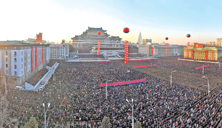 N Korea holds mass celebrations for latest missile test