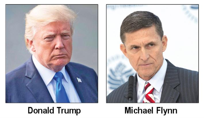 Trump shrugs off Flynn guilty plea