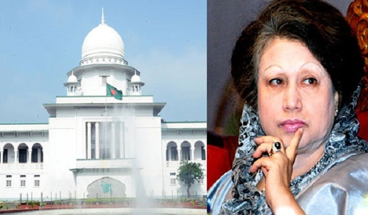 Khaleda may surrender in graft cases Tuesday