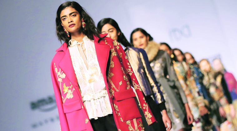 Beat the chill with embroidered capes, peplums