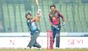 Rangpur Riders batsman Mohammad Mithun