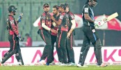 Khulna Titans player celebrate
