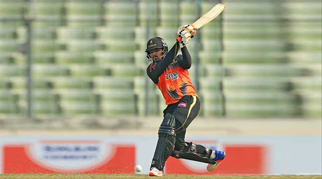 Khulna post 174 against Comilla
