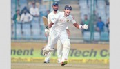 Chandimal, Mathews hit tons in smoggy Test