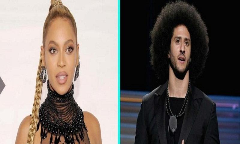 Beyonce surprises Colin Kaepernick and presents him with Muhammad Ali Legacy Award