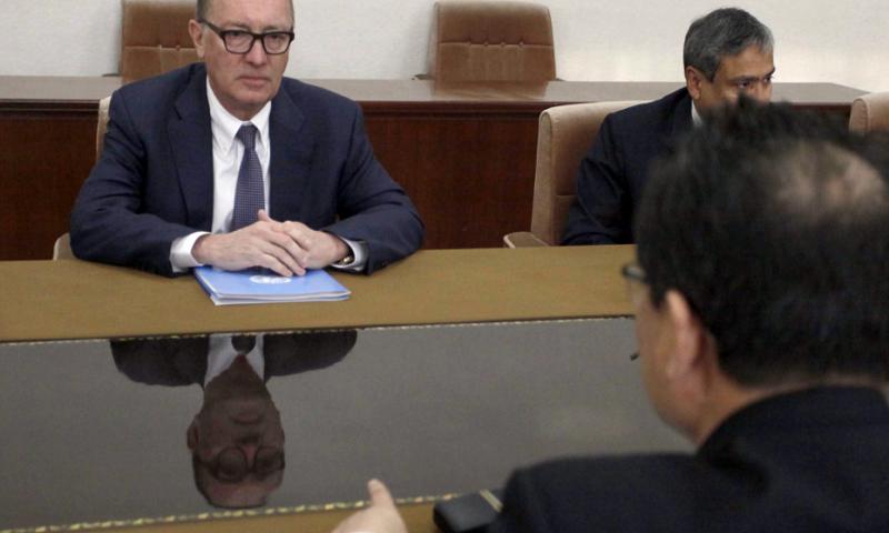 Senior UN official meets North Korea's deputy foreign minister