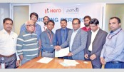 Hero, Pathao sign partnership agreement