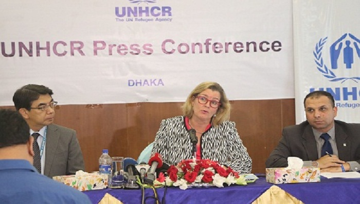 Int'l monitoring required ensuring fulfillments of commitments: UNHCR