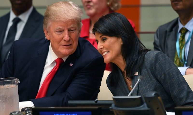 "Trump's Jerusalem decision is ""historic"": Haley"