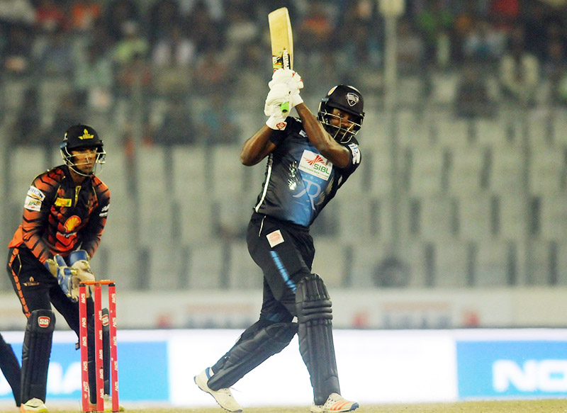 Gayle's unbeaten knock of 126 confirms 2nd qualifier berth for Rangpur Riders
