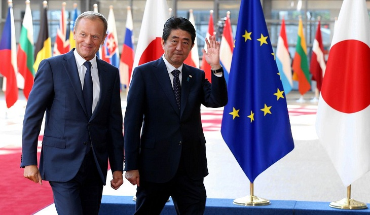 EU and Japan say they have finalised free trade deal