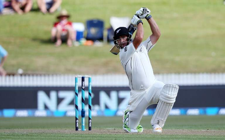 New Zealand 173-3 at tea vs West Indies in 2nd test