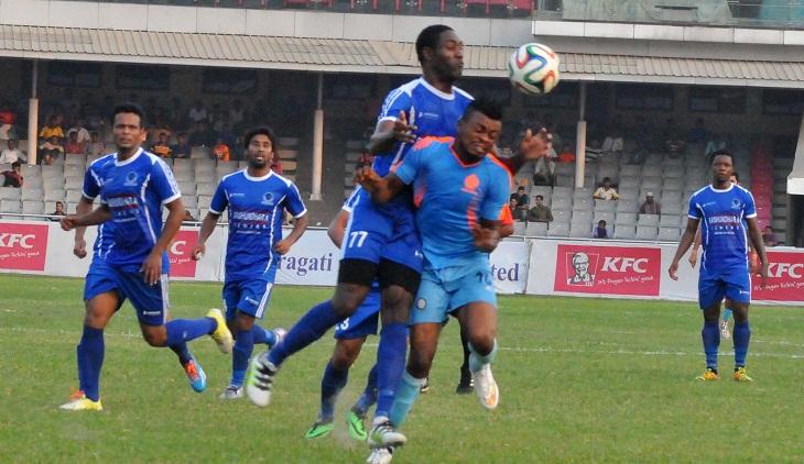 BPL Football: Dhaka Abahani beat Sheikh Russel KC 1-0