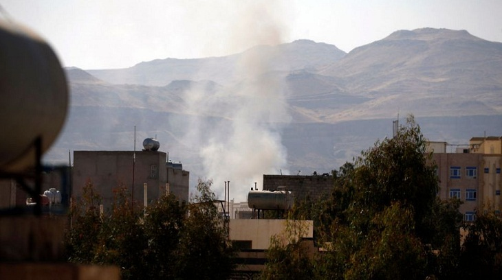Saudi-led strike on Yemen TV station kills four: rebels