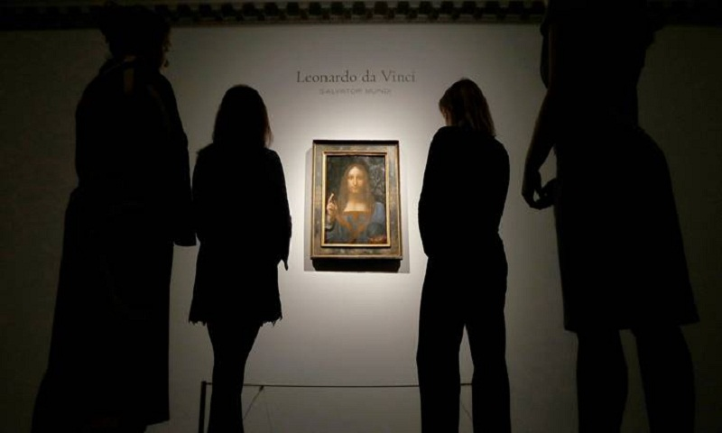 Abu Dhabi to acquire Leonardo da Vinci's 'Salvator Mundi'- Christie's